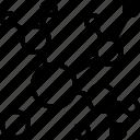 diagram, concept map, network icon