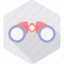 astronomy, binocular, binoculars, explore, telescope, vision icon