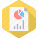 diagram, document, file, page, paper, report, sheet icon