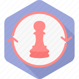 chess, game, manage, management, plan, soldier, strategy icon
