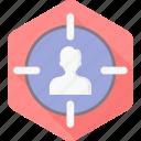 target, user, users, business, customer, people