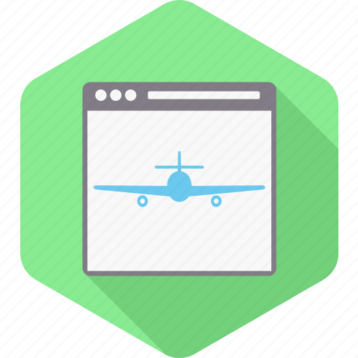 developement, document, landing, page, plane, site, web icon