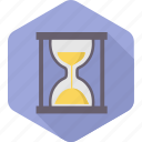 sandglass, hourglass, load, project, management, time, wait