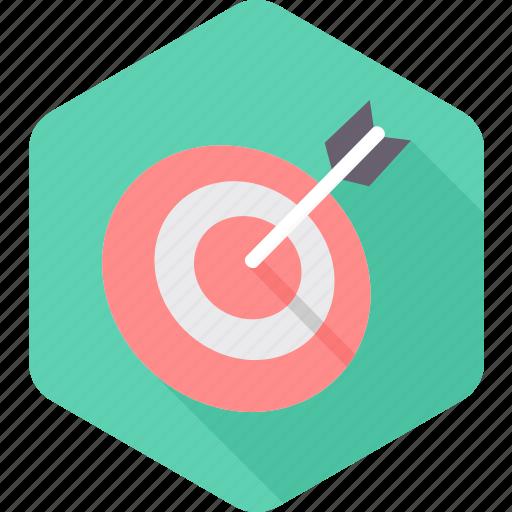 aim, archery, dartboard, game, goal, sports, target icon