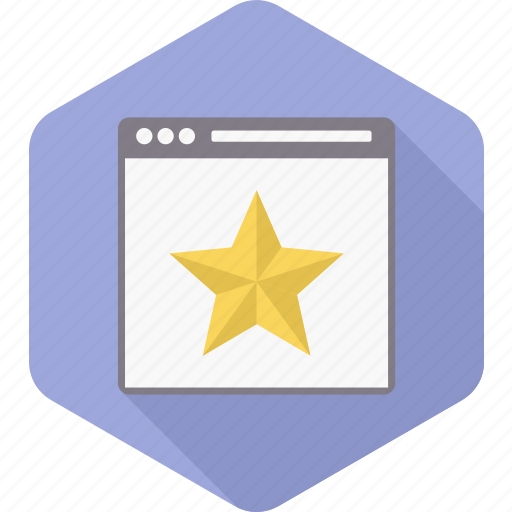page, rank, ranking, rate, seo, star, web icon