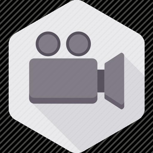 camera, film, film making, media, movie, picture, video icon