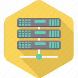 data, database, hosting, information, server, storage, web icon