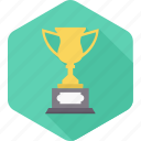 achievement, champion, competition, prize, trophy, win, winner icon