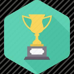 achievement, champion, competition, prize, trophy, win, winner icon