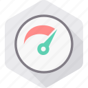 car, dashboard, meter, optimization, performance, speed, speedometer icon