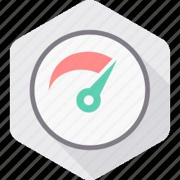 car, dashboard, meter, optimization, performance, speed, speedometer icon