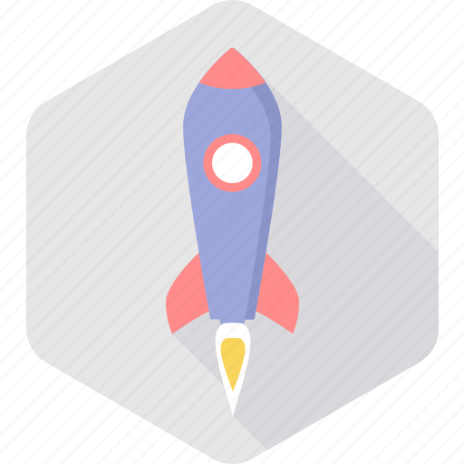 business, launch, missille, project, rocket, space, startup icon