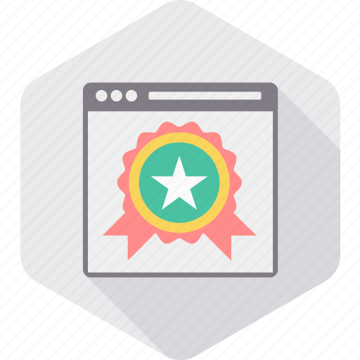 best, document, page, rating, star, top, web icon