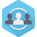 account, business, group, people, target, user, users icon