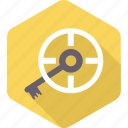 key, lock, password, safety, search, security icon