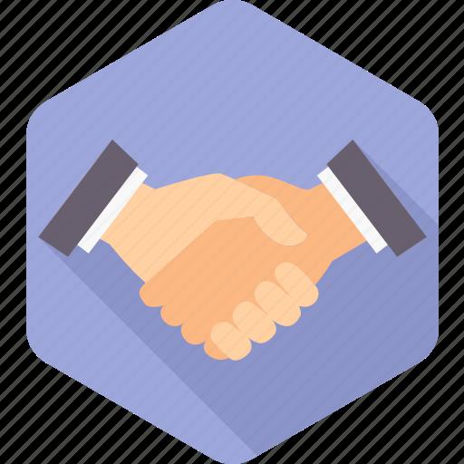 gesture, hand, handshake, interaction, meeting, partnership, shake icon