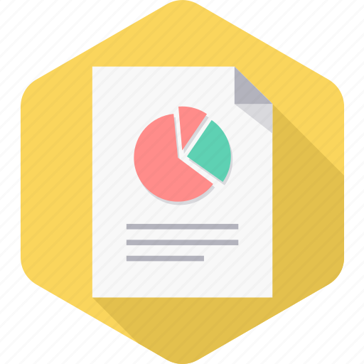 business, chart, diagram, graph, page, report icon