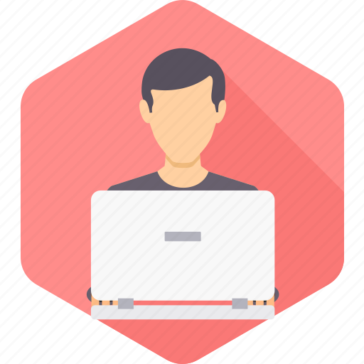 business, busy, employee, man, user, work, working icon
