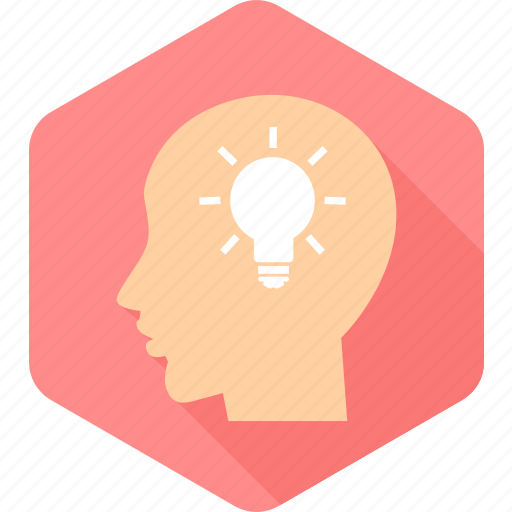 bulb, human, idea, lightbulb, people, person, user icon