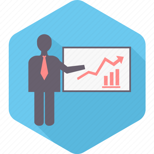 Business, presentation, chart, graph, office, report icon - Download on Iconfinder