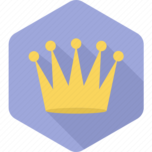 achievement, champion, crown, king, prince, success, winner icon