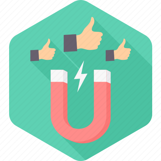 Attract, like, likes, users, integrate, magnet, social icon - Download on Iconfinder