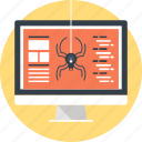 antivirus, bug, computer, protection, security, spider, virus icon