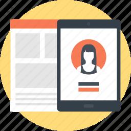 app, application, design, development, mobile, ui, web icon