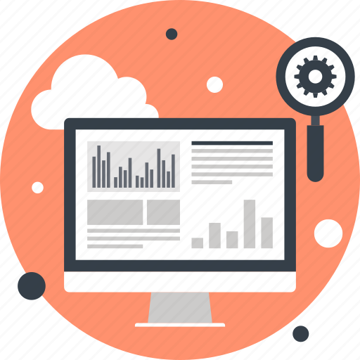 cloud, computer, explore, optimization, search, seo, web icon
