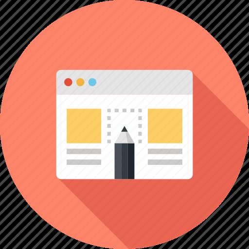 app, application, design, development, layout, template, web icon