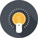 business, buy, click, commerce, finance, ppc, seo icon