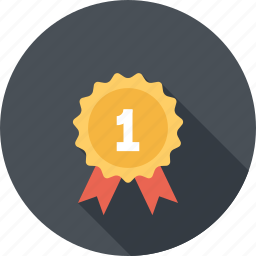 achievement, award, badge, medal, prize, quality, success icon