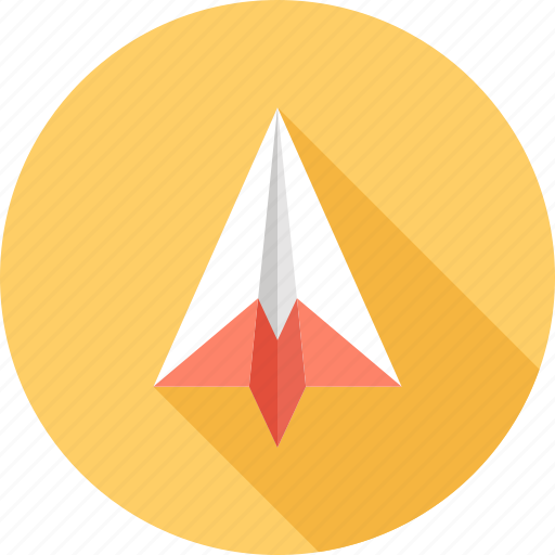 communication, launch, message, origami, paper, plane, startup icon