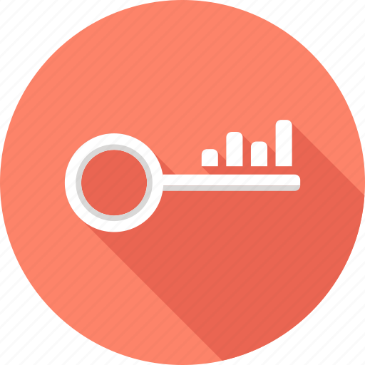 key, keyword, optimization, rank, search, seo, word icon
