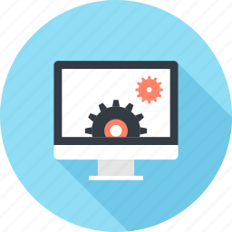 computer, content, development, gear, management, options, settings icon