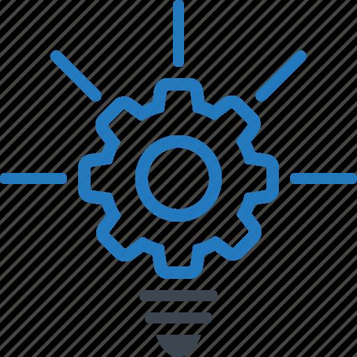 creative, idea, nnovation, services, web icon