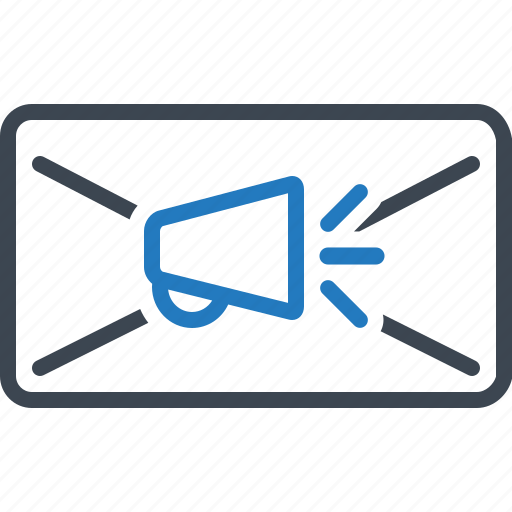 ad, advertising, email, marketing icon