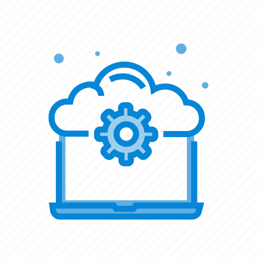 cloud, computer, computing, device, laptop icon