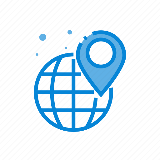 gps, local, map, pointer, seo icon