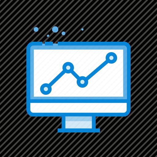 analytics, chart, monitoring, seo, statistics icon