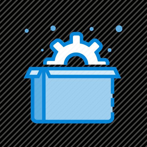 box, marketing, optimization, package, seo icon