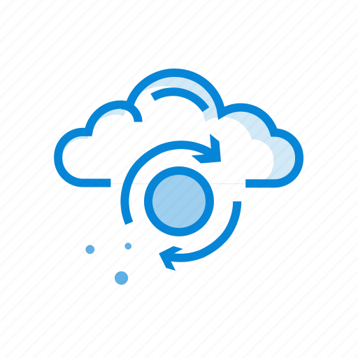 best, cloud, data, sync, upload, virtual icon