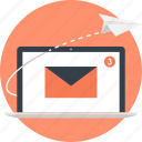 address, communication, email, letter, mail, marketing, message