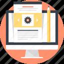 blog, communication, computer, design, development, management, web
