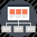 hierarchy, map, navigation, network, site, sitemap, web