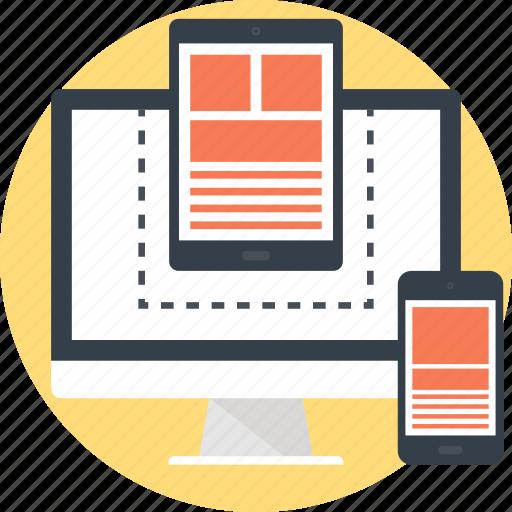 Adaptive, computer, design, development, device, responsive, web icon - Download on Iconfinder