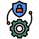 defense, protection, secure, security, shield, weapon icon