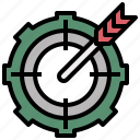 archery, arrow, board, dart, darts, target, targeting icon
