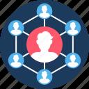 engine, optimization, search, seo, social, user icon