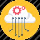 database, engine, hosting, optimization, search, seo icon